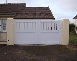 Visualisez nos portails PVC et BOIS